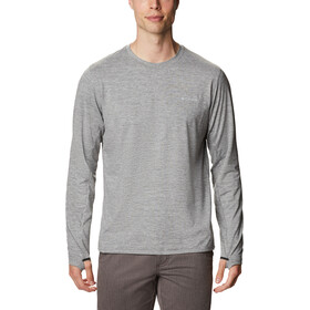 Columbia Tech Trail II Langarm Rundhalsshirt Herren city grey heather